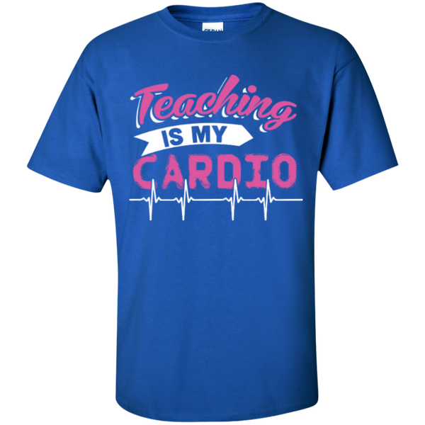 Teaching is my Cardio  T-Shirt - TeachersLoungeShop - 6