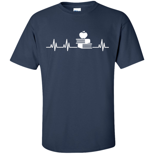 Teacher Heartbeat  T-Shirt - TeachersLoungeShop - 10