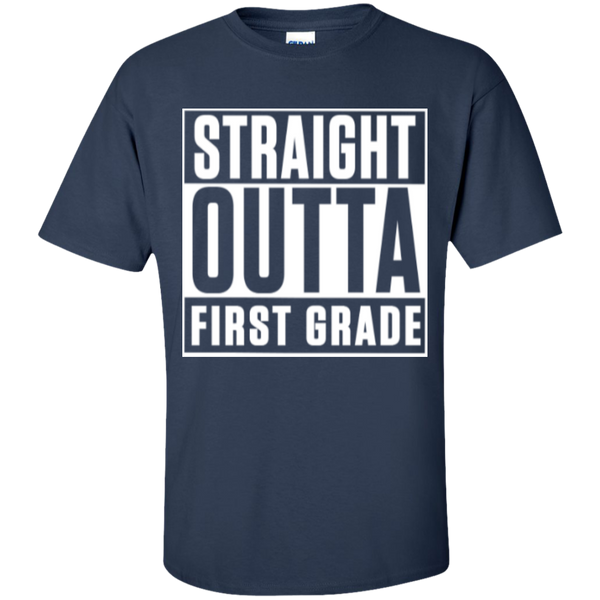 Straight Outta First Grade  T-Shirt - TeachersLoungeShop - 9