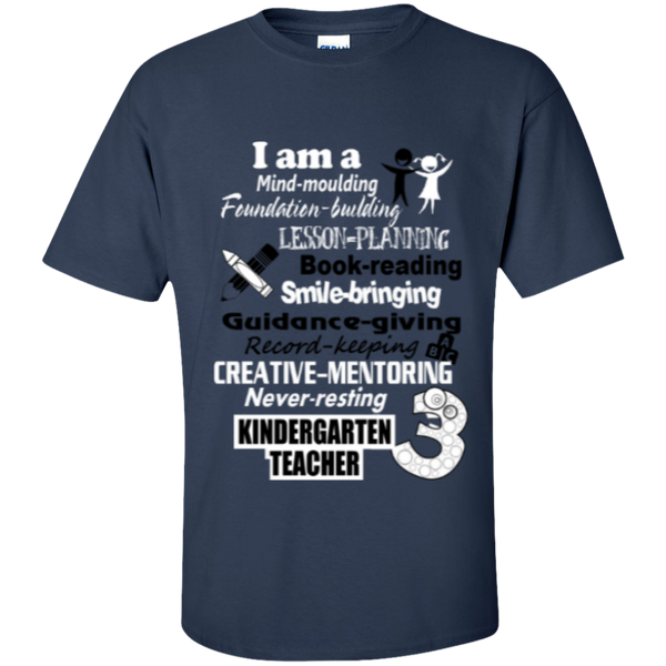 Kindergarten Teacher  T-Shirt - TeachersLoungeShop - 3