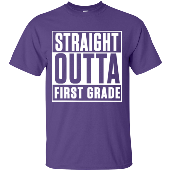 Straight Outta First Grade  T-Shirt - TeachersLoungeShop - 10