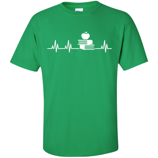 Teacher Heartbeat  T-Shirt - TeachersLoungeShop - 4