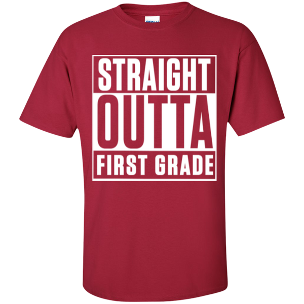 Straight Outta First Grade  T-Shirt - TeachersLoungeShop - 3