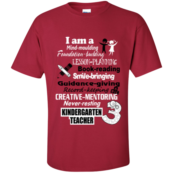 Kindergarten Teacher  T-Shirt - TeachersLoungeShop - 5