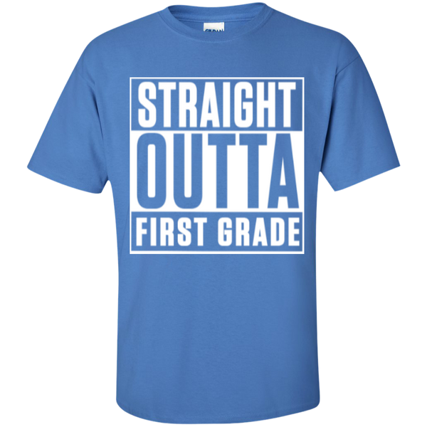 Straight Outta First Grade  T-Shirt - TeachersLoungeShop - 4