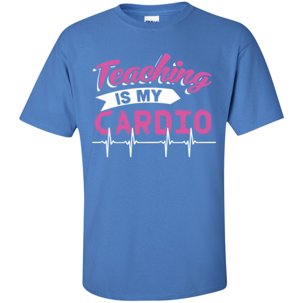 Teaching is my Cardio  T-Shirt - TeachersLoungeShop - 4