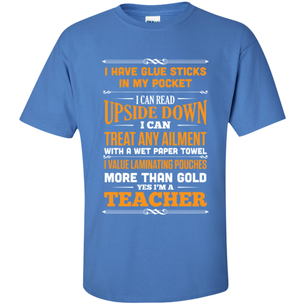 Yes i am a Teacher  T-Shirt - TeachersLoungeShop - 4