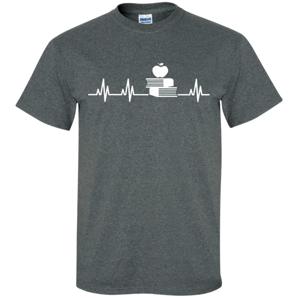 Teacher Heartbeat  T-Shirt - TeachersLoungeShop - 5