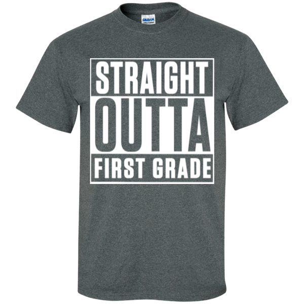 Straight Outta First Grade  T-Shirt - TeachersLoungeShop - 5