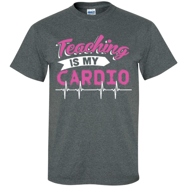 Teaching is my Cardio  T-Shirt - TeachersLoungeShop - 5