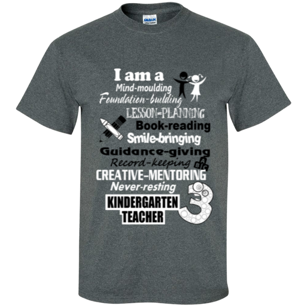Kindergarten Teacher  T-Shirt - TeachersLoungeShop - 9