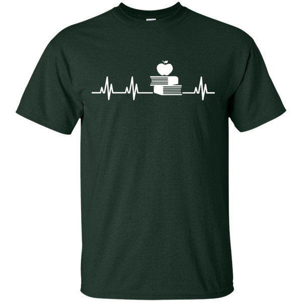 Teacher Heartbeat  T-Shirt - TeachersLoungeShop - 2