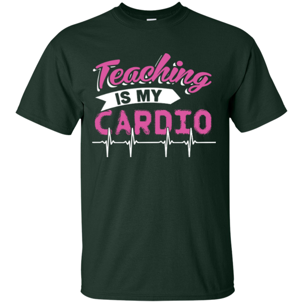 Teaching is my Cardio  T-Shirt - TeachersLoungeShop - 2