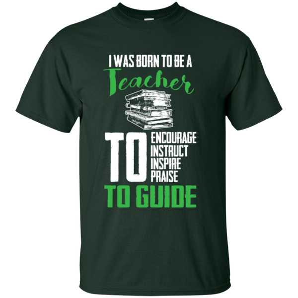 I was born to be a Teacher T-Shirt - TeachersLoungeShop - 2