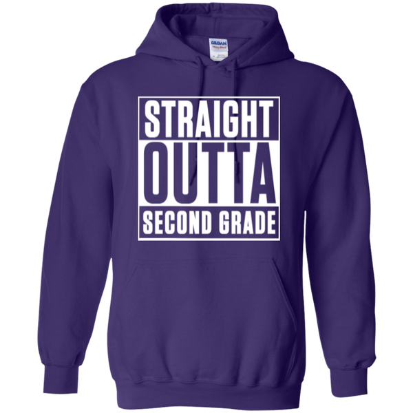 Straight Outta Second Grade Hoodie - TeachersLoungeShop - 6