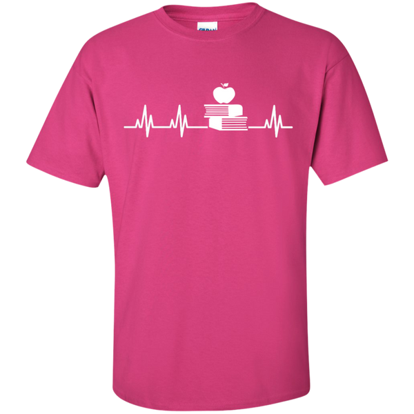 Teacher Heartbeat  T-Shirt - TeachersLoungeShop - 6