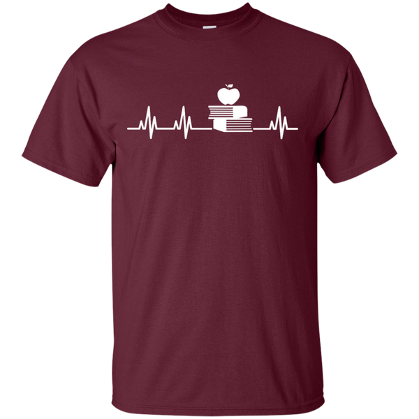 Teacher Heartbeat  T-Shirt - TeachersLoungeShop - 7