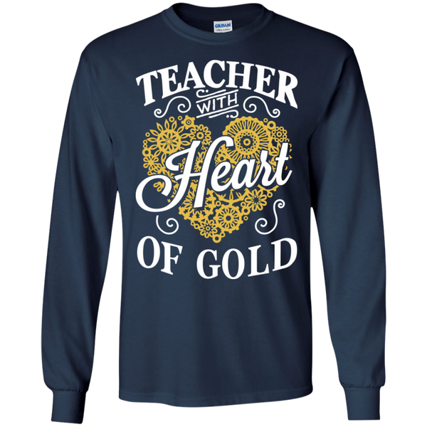 Teacher with Heart of Gold  Ultra Cotton Tshirt - TeachersLoungeShop - 6