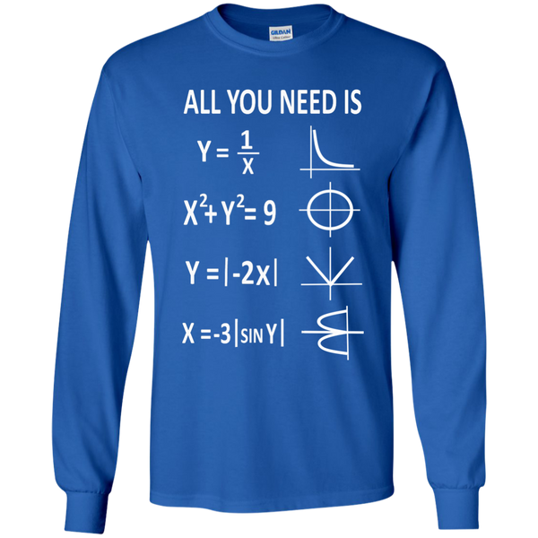 All You Need is Love LS Ultra Cotton Tshirt - TeachersLoungeShop - 9
