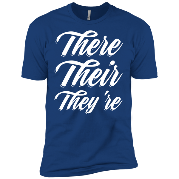 They Their They're  Next Level Premium Short Sleeve Tee - TeachersLoungeShop - 10