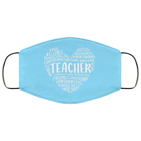 Teacher sayings Face Mask