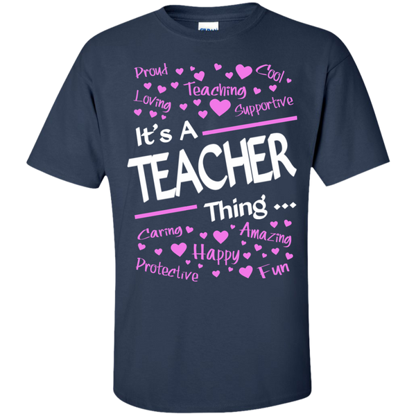 It's a Teacher Thing Cotton T-Shirt - TeachersLoungeShop - 10