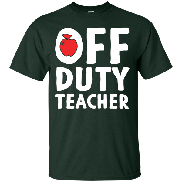 Off Duty Teacher T-Shirt - TeachersLoungeShop - 7