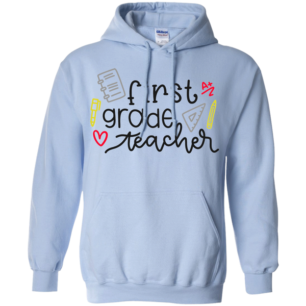First Grade Teacher Hoodie