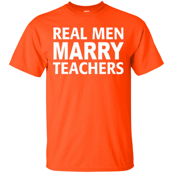 Real Men Marry Teachers T-shirt Hoodie - TeachersLoungeShop - 4