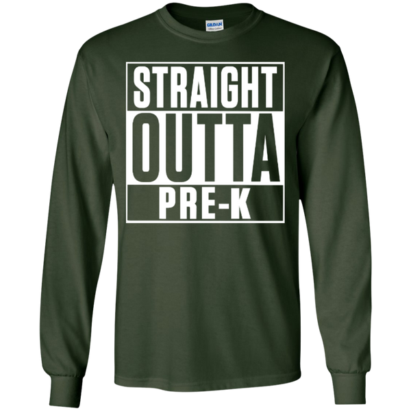 Straight Outta Pre-K    Ultra Cotton Tshirt - TeachersLoungeShop - 8