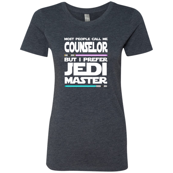 Most People Call Me Counselor But I Prefer Jedi Master Next Level Ladies Triblend T-Shirt - TeachersLoungeShop - 6