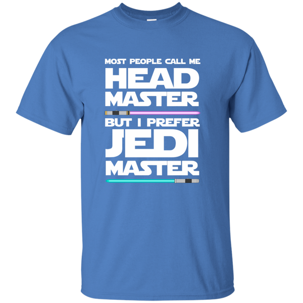 Most People Call Me Head Master But I Prefer Jedi Master Cotton T-Shirt - TeachersLoungeShop - 5