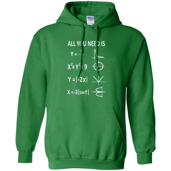 All You Need is Love Pullover Hoodie 8 oz - TeachersLoungeShop - 8