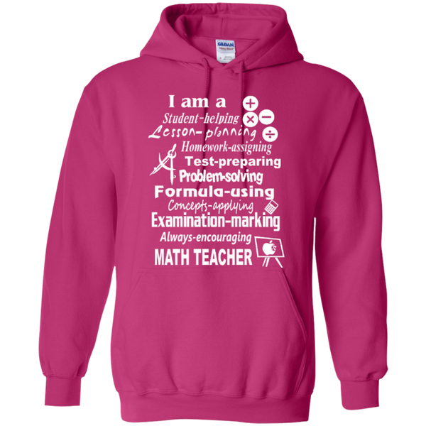 I am a Math Teacher Limited Edition T-shirt Hoodie - TeachersLoungeShop - 8