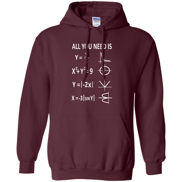 All You Need is Love Pullover Hoodie 8 oz - TeachersLoungeShop - 9