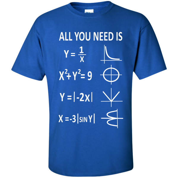 All You Need is Love Cotton T-Shirt - TeachersLoungeShop - 9