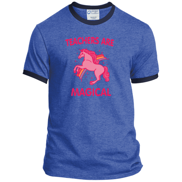 Teachers are Magical Ringer Tee - TeachersLoungeShop - 7