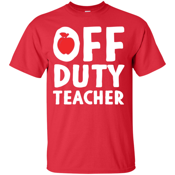 Off Duty Teacher T-Shirt - TeachersLoungeShop - 3