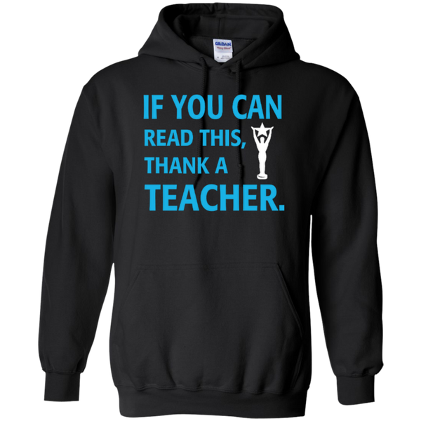 If You Can Read This Thank a Teacher T-shirt Hoodie - TeachersLoungeShop - 6