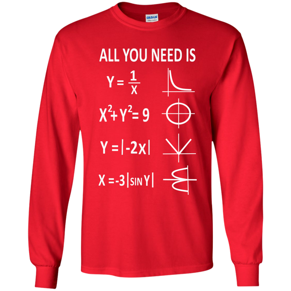 All You Need is Love LS Ultra Cotton Tshirt - TeachersLoungeShop - 8