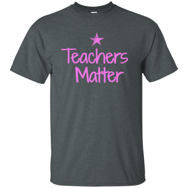 Teachers Matter Cotton T-Shirt - TeachersLoungeShop - 2