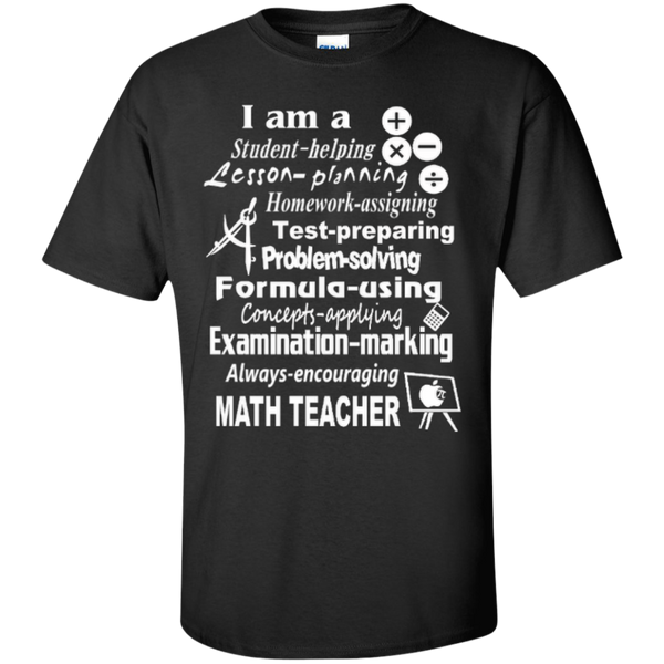 I am a Math Teacher Limited Edition T-shirt Hoodie - TeachersLoungeShop - 1