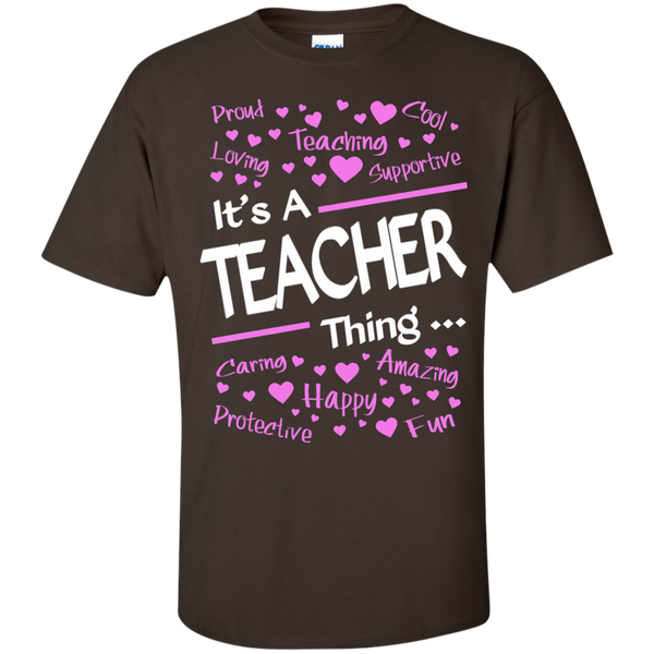 It's a Teacher Thing Cotton T-Shirt - TeachersLoungeShop - 4