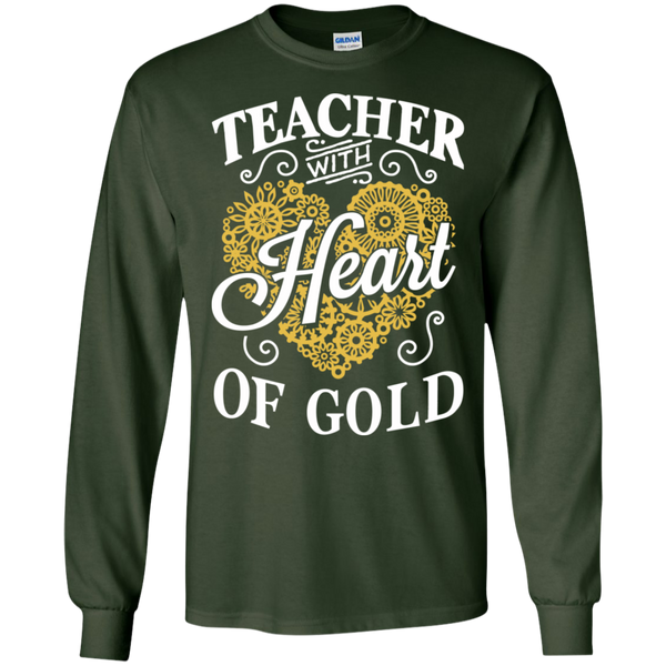 Teacher with Heart of Gold  Ultra Cotton Tshirt - TeachersLoungeShop - 8