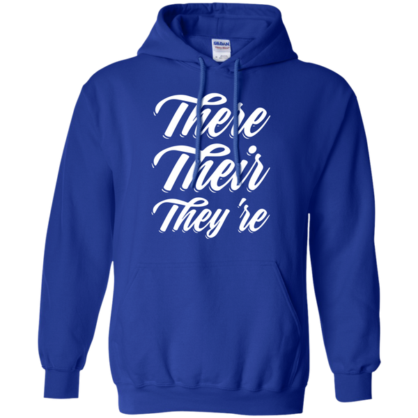 There Their They're Hoodie 8 oz - TeachersLoungeShop - 12