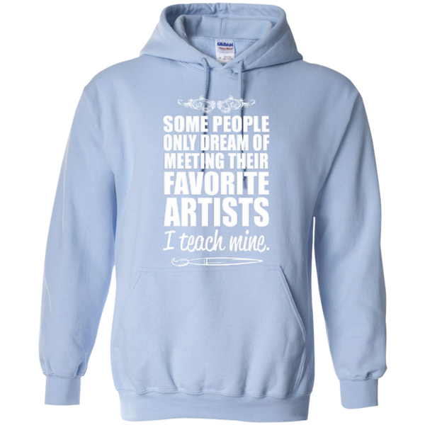Favourite Artists i Teach Mine Hoodie - TeachersLoungeShop - 5
