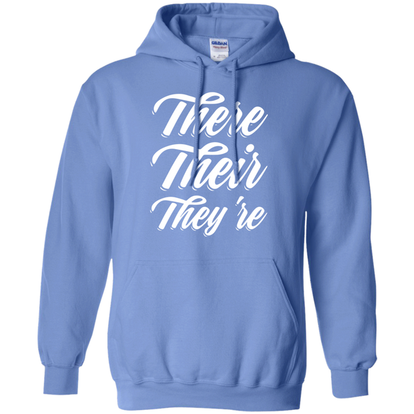 There Their They're Hoodie 8 oz - TeachersLoungeShop - 4