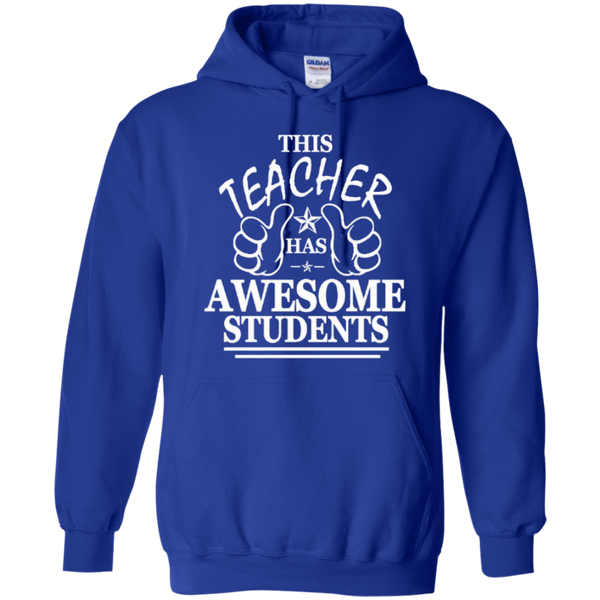 This Teacher has Awesome Students T-shirt Hoodie - TeachersLoungeShop - 11