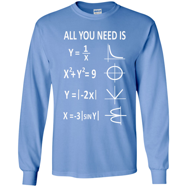 All You Need is Love LS Ultra Cotton Tshirt - TeachersLoungeShop - 5
