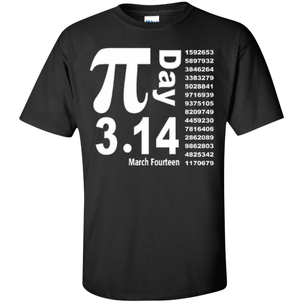Teacher Math Pi Day March Fourteen 3.14 T-Shirt - TeachersLoungeShop - 1